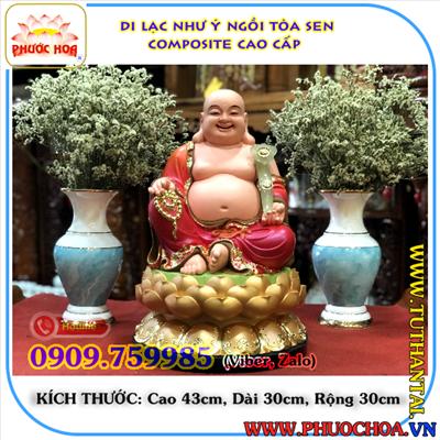 Tượng Phật Ông Di Lạc Composite