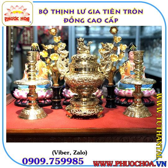 PHƯỚC HOA - Trang Tủ Thờ Thần Tài-Phật-Tượng Gốm Sứ-Đồ Đồng-Linh Vật Phong Thủy.... - 4