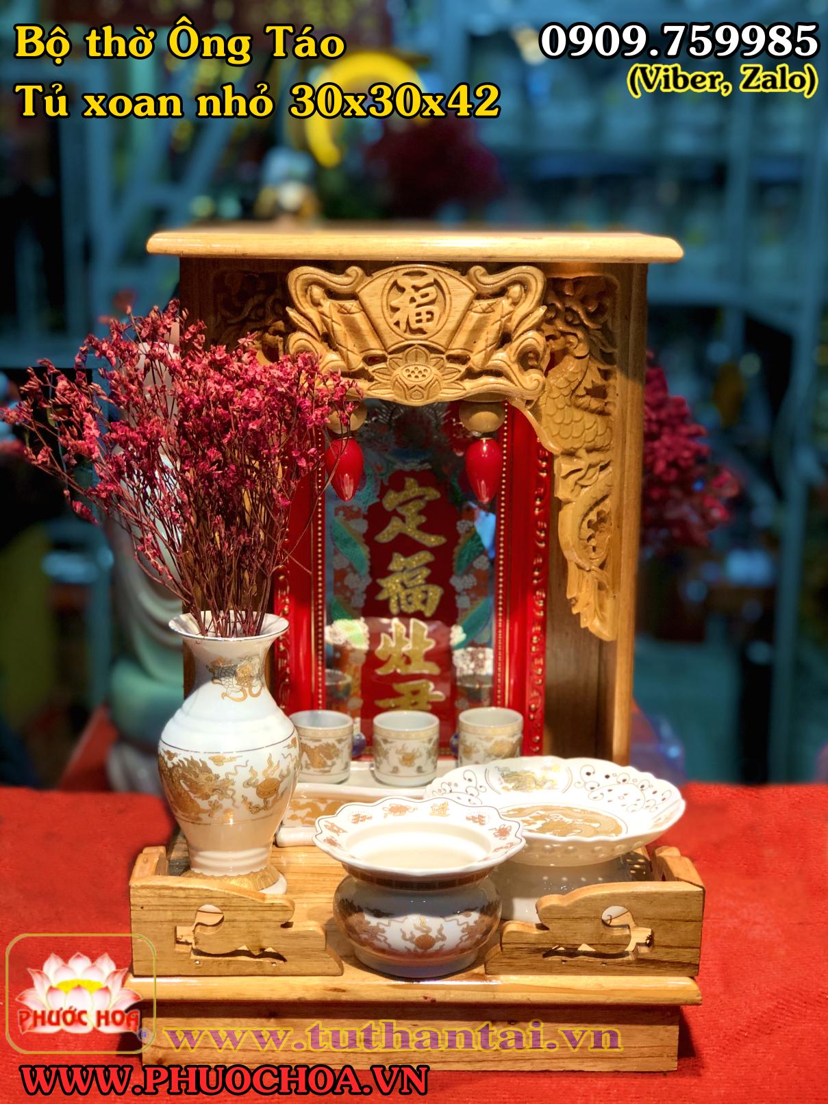 PHƯỚC HOA - Trang Tủ Thờ Thần Tài-Phật-Tượng Gốm Sứ-Đồ Đồng-Linh Vật Phong Thủy.... - 3