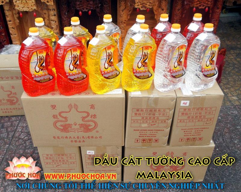 DẦU CÁT TƯỜNG CAO CẤP MALAYSIA (chính hãng)
